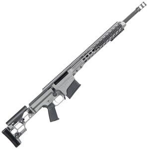 "Barrett MRAD Bolt Action Rifle 6.5 Creedmoor 24"" Barrel 10 Round Detachable Box Magazine 20 MOA Free Float Rail Adjustable Stock Tungsten Gray Cerakote Receiver"