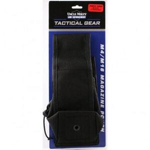 Uncle Mikes Triple Rifle Nylon 3 Magazine Pouch Molle Compatible Black