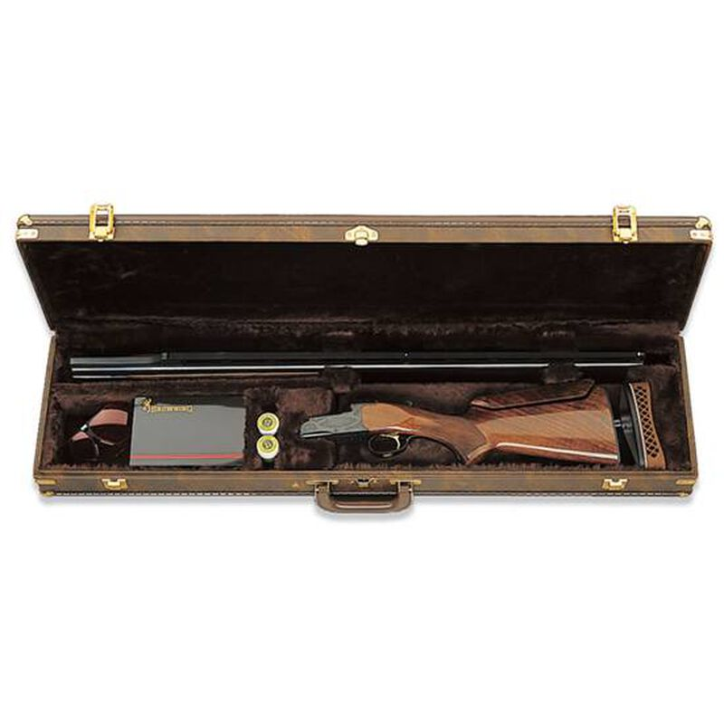 "Browning Traditional Single Barrel Trap Shotgun Fitted Case 34"" Brown"