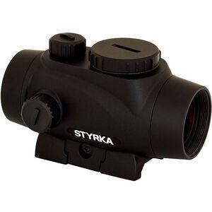 STYRKA S3 Red Dot 1x21mm Illuminated 2.5 MOA Dot Picatinny/Weaver Mount Matte Black Finish
