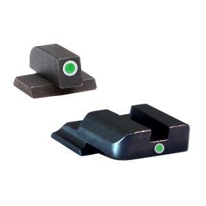 AmeriGlo S&W M&P Shield Tritium I-Dot Sight Set Steel