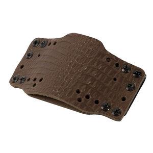 Limbsaver CrossTech Leather Gun Holster Ambidextrous IWB/OWB Most Full Size/Compact Semi Auto Pistol Dark Brown