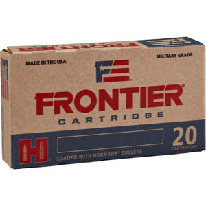 Hornady Frontier 5.56 NATO Ammunition 20 Rounds BTHP Match 75 Grains FR320