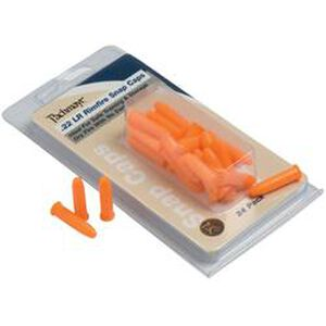 Pachmayr .22 Long Rifle Snap Caps 24 Pack Polymer Orange