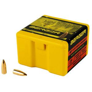 "Berger Varmint .20 Cal .204"" Bullets 35 Grain Flat Base Hollow Point 100 Count"