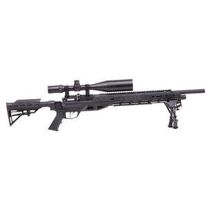 Benjamin Armada Tactical Air Rifle w/ 4-16x56 Scope & Bipod, .22 Cal, Synthetic/Steel, Black