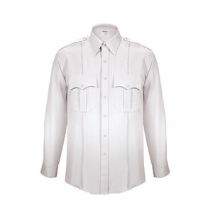 Elbeco TexTrop2 Men's Long Sleeve Shirt Size Size 17 Neck 34 Sleeve White