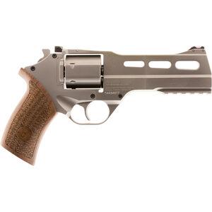 "Chiappa White Rhino 50SAR 357 Mag 5"" 6rds Wood/Chrome"