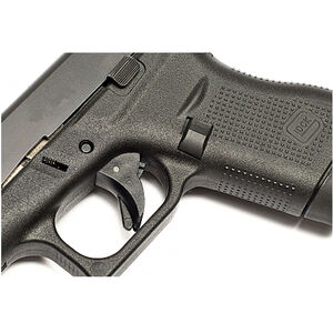 TangoDown Vickers Tactical GLOCK 43 Extended Magazine Release Polymer Matte  Black