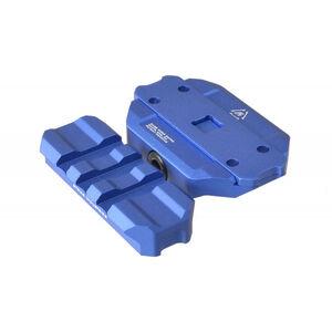 Strike Industries AR-15 R.EX Riser Picatinny Optic Mount Aluminum/Steel Anodized Blue SI-REX-RISER-BLU