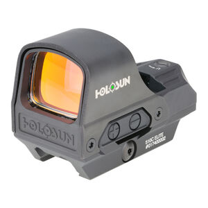 Holosun HS510C-GR Green Dot Sight with Cowitness QD Mount Shake Awake 2 MOA Circle Dot Reticle