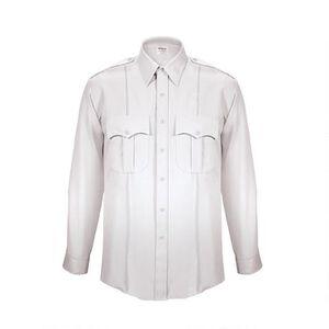 Elbeco TexTrop2 Men's Long Sleeve Shirt Size Size 18 Neck 35 Sleeve White