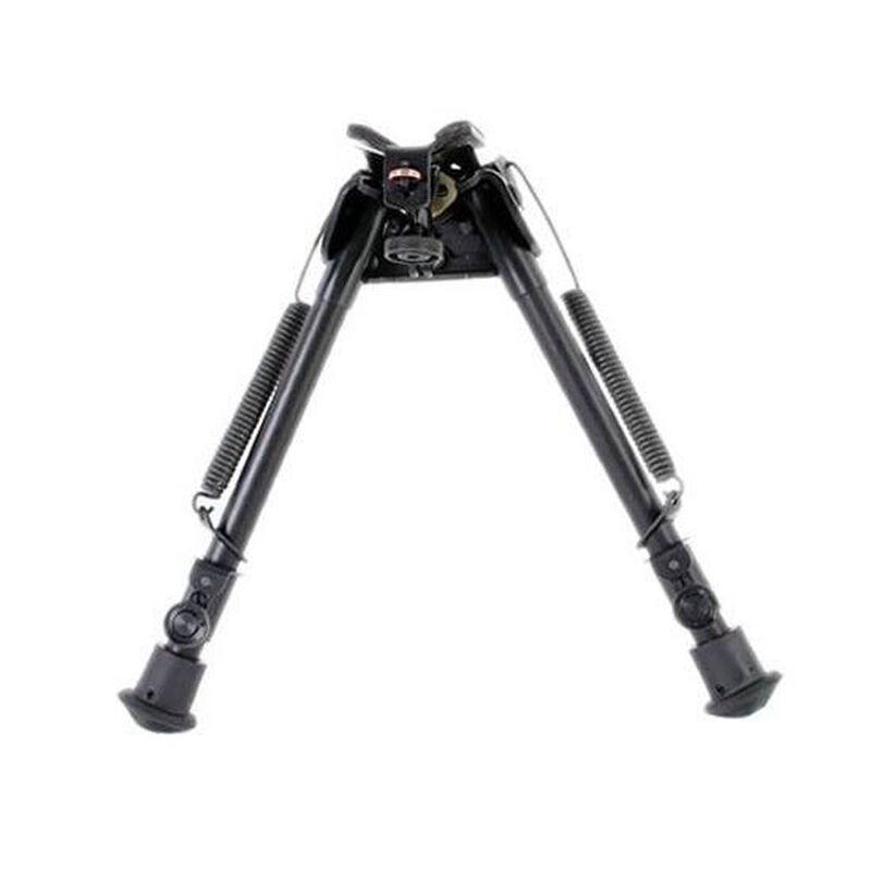 "Harris Ultra-light Bipod Swivel/Sling Swivel Stud Mount 9"" to 13"" Telescoping/Folding Legs Aluminum Matte Black S-L"