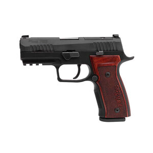 "Sig Sauer P320 AXG Classic 9mm Luger Semi Auto Pistol 3.9"" Barrel 17 Rounds Aluminum Frame Optics Ready Black"