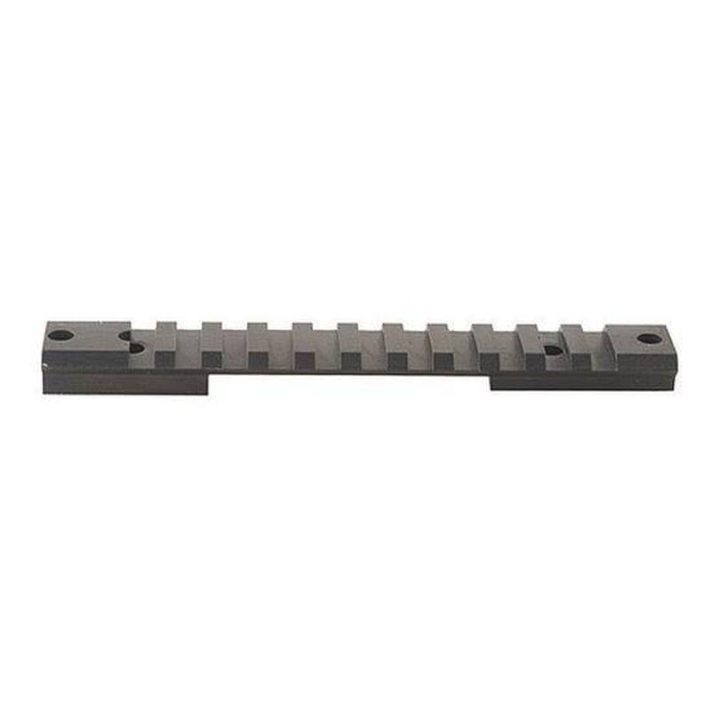 Warne Scope Mounts Remington 700 Short Action Tactical 1 Piece Base, 20 MOA,  Matte Finish