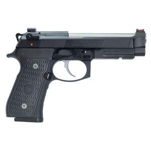 "Beretta 92 Elite Langdon Tactical Tech 9mm Luger Semi Auto Pistol 4.7"" Stainless Barrel 15 Rounds LTT Trigger Job G 10 Grip NP3 Finish Black Frame/Slide Finish"
