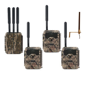 Covert Scouting Cameras LoRa LB-A3 Transmitter and LC-32 Camera Package