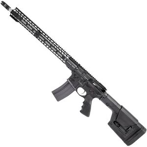 "Stag Arms STAG-15L Valkyrie Left Handed Semi Auto Rifle .224 Valkyrie 18"" Stainless Steel Heavy Barrel 25 Rounds Stag-15 M-LOK SL Freefloat Handguard Magpul Fixed Rifle Stock Black"