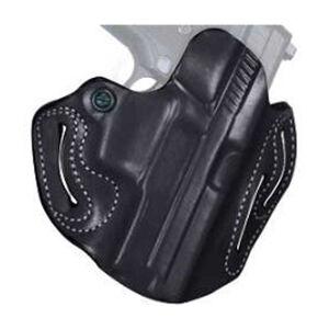 DeSantis Speed Scabbard Belt Holster S&W M&P Shield .45 Right Hand Leather Black 002BA5EZ0