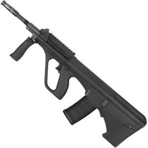 "Steyr AUG A3 M1 NATO Semi Auto Rifle .223 Rem/5.56 NATO 16"" Chrome Lined Barrel 30 Round Standard AR-15 Magazine with Short Rail Matte Black Finish AUGM1BLKNATOS"