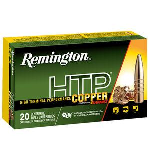 Remington HTP Copper 45-70 Gov Ammunition 20 Rounds 300 Grain Barnes TSX Copper Flat Nose Projectile