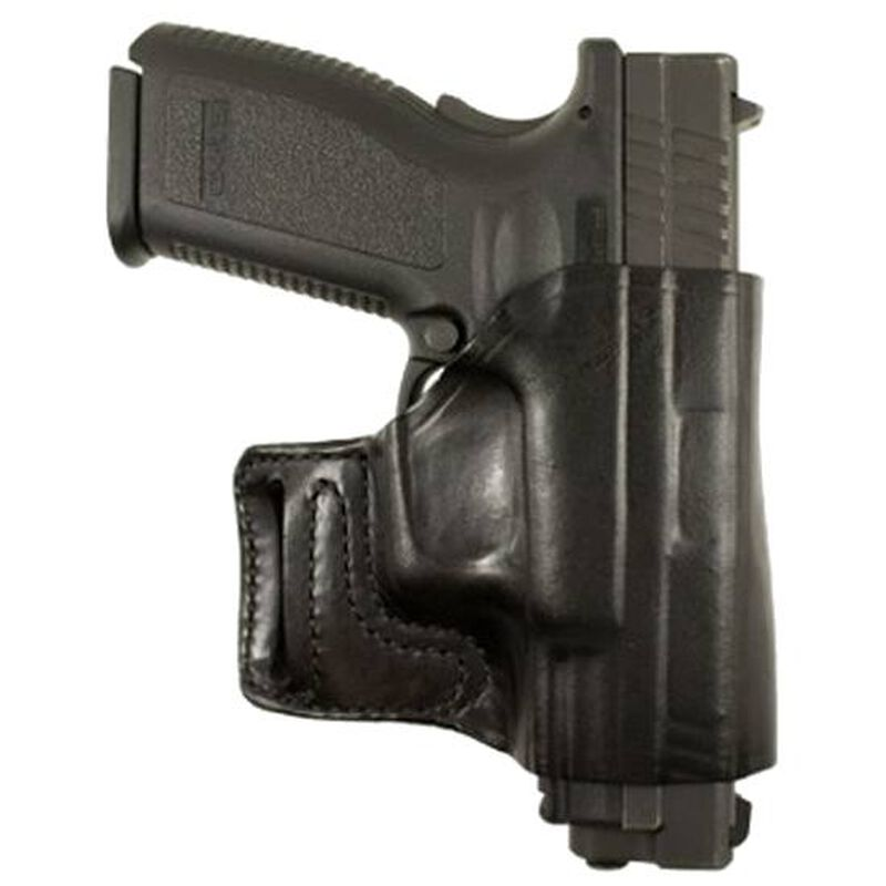DeSantis Gunhide E-GAT Springfield XD 9, 40, 45, Springfield XD(m) 9, 40 OWB Holster Right Hand Leather Black 115BA88Z0