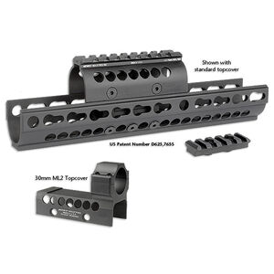MI AK-47 SS Extended KeyMod Handguard with Aimpoint Cover