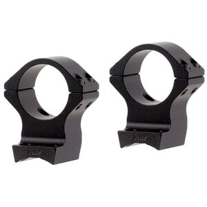 """Talley Browning X-Bolt Base and Ring Combo 1"""" High Aluminum Black"""