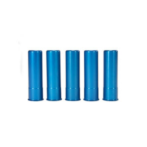 A-Zoom 20 Gauge Snap Caps Aluminum Blue 5 Pack 12313