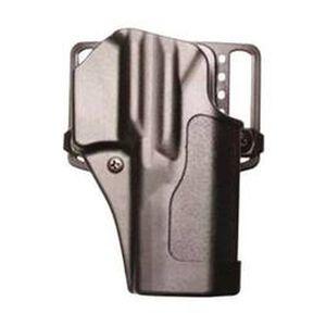 BLACKHAWK! Sportster CQC S&W M&P Shield Holster Right Hand Black Matte Finish 410566BK-R