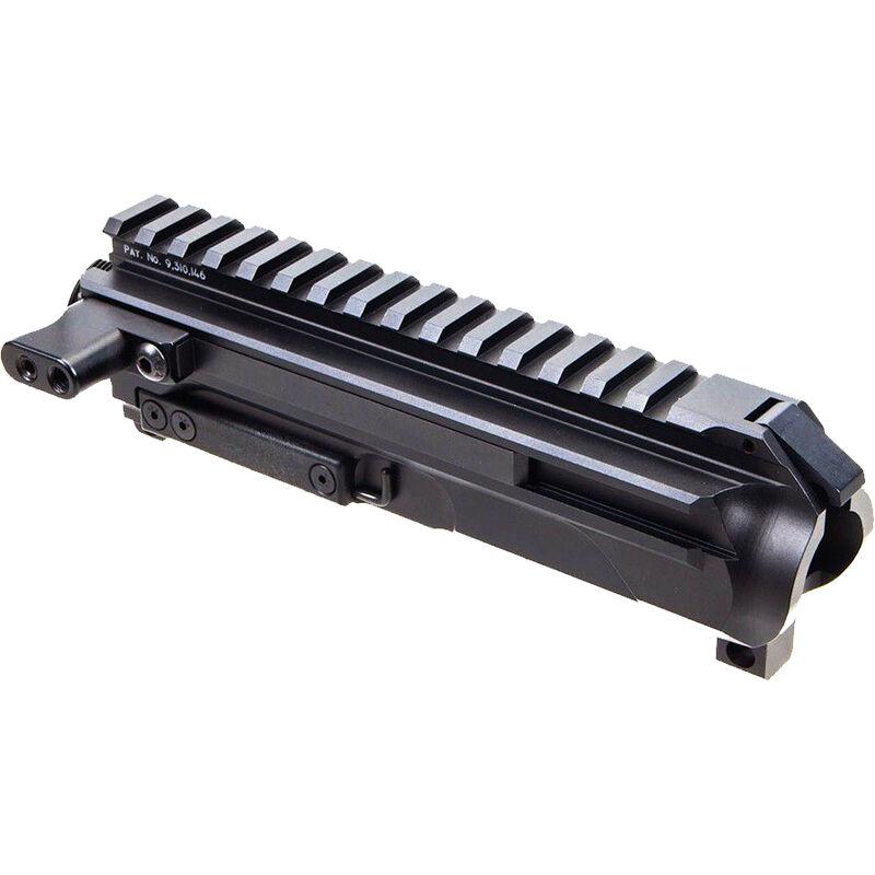 New Frontier AR Pistol Caliber Side Charging Stripped Upper Receiver Billet Aluminum Anodized Black