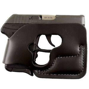 DeSantis Gunhide Pocket Shot Ruger LCP with Crimson Trace Laser Guard Pocket Holster Ambidextrous Leather Black 110BJT7Z0