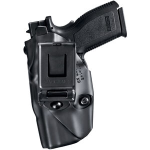 Safariland 6379 ALS Retention Holster GLOCK 17, 22 with Tactical Light, Right Hand, Belt Clip, STX Plain Black 6379-2832-411
