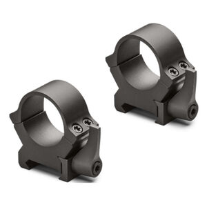 Leupold QRW2 Quick Release 2 Weaver/Cross Slot Style Scope Rings 30mm Tube Low Height Machined Steel Matte Black