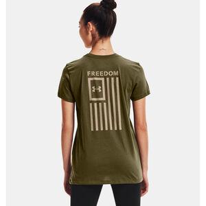 Under Armour Women's UA Freedom Flag T Shirt