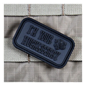 Violent Little Machine Shop Morale Patch I'm Your Huckleberry PVC Blackout