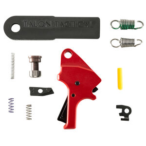 Apex Flat-Faced Forward Set Trigger Kit Fits S&W M&P M2.0 Red