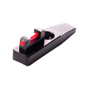 """Tactical Solutions Ruger 22/45 Pac-Lite Fiber Optic Front Sight Pistol Red .365"""" High Aluminum Black Finish FSFO LOW RED"""