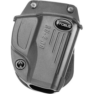 Fobus E2 Evolution Series Paddle Holster Ruger LC9/LC380 Right Hand Polymer Black