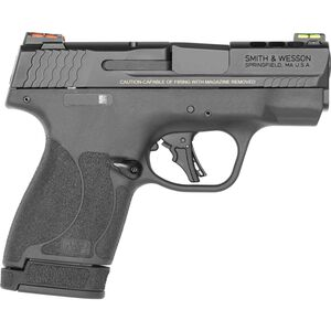 "S&W Performance Center M&P 9 Shield Plus EDC Kit 9mm Luger Semi-Auto Pistol 3.1"" Barrel 13 Rounds Ported Barrel and Slide Fiber Optic Sights Black"