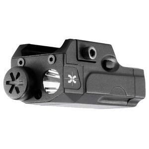 Axeon Optics MPL1 Compact Tactical Pistol Handgun Mini Light White LED 120 Lumens AAA Battery Aluminum Black