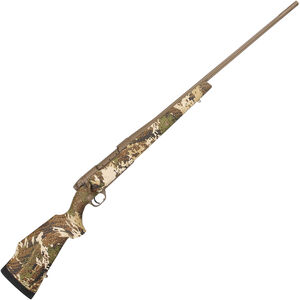 "Weatherby Mark V Subalpine .257 Wby Mag Bolt Action Rifle 26"" Barrel 3 Rounds Gore Optifade Subalpine Camo Synthetic Stock FDE Cerakote Finish"