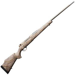 "Weatherby MK V Terramark .300 Wby Mag Bolt Action Rifle 26"" Barrel 3 Rounds Tan/Webbed Synthetic Stock Cerakote FDE Finish"