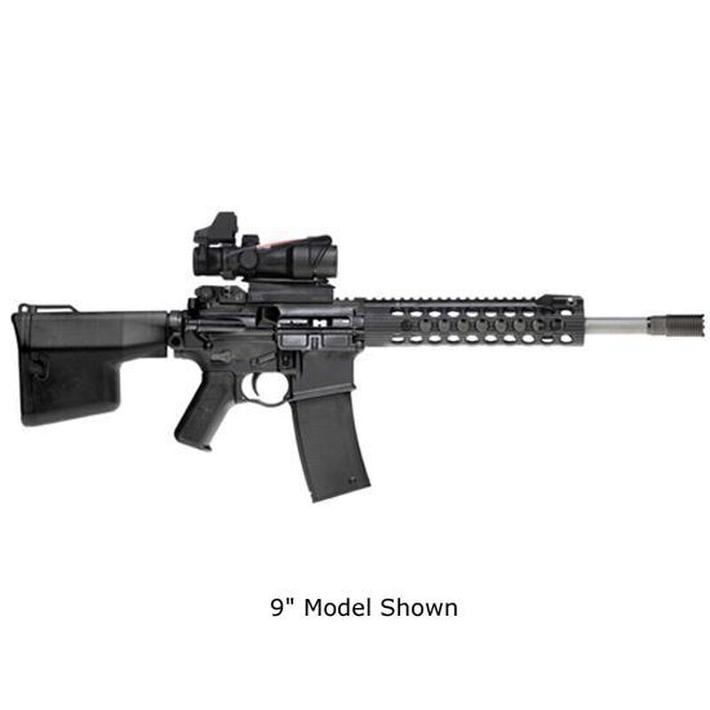 "Troy Industries Alpha Rail AR-15 Free Float Handguard 13"" With Integral Front Sight Aluminum Black STRX-AL1-13BT-00"
