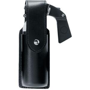 Safariland OC/Mace Spray Holder Fits MK-6 Brass Snap SafariLaminate Plain Black