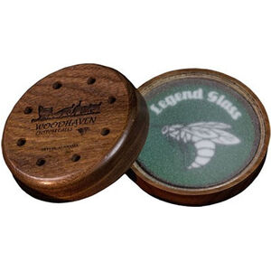 Woodhaven Custom Calls The Legend Glass Friction Call 2 Strikers Walnut Cup