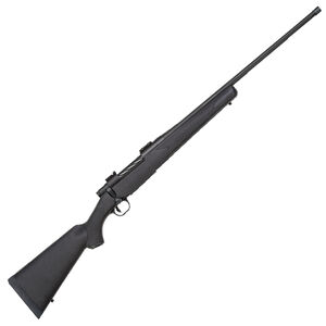 "Mossberg Patriot Synthetic .338 Win Mag Bolt Action Rifle 24"" Threaded Barrel 3 Rounds Synthetic Stock Matte Blued Finish"