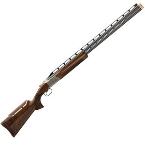 "Browning Citori 725 Pro Trap Over/Under Shotgun 12 Gauge 32"" Ported Barrels 2.75"" Chamber 2 Rounds Pro Balance Grade III/IV Walnut Stock Adjustable Comb Silver Receiver Blued 0180033009"
