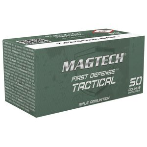 Magtech 7.62x51mm Ammunition 50 Rounds, FMJ, 147 Grains