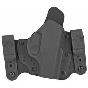DeSantis Intruder 2.0 Holster IWB/OWB for Ruger LC9/EC9S Right Hand Draw Kydex Black